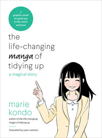 The Life-Changing Manga of Tidying Up book cover