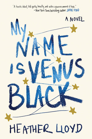 My Name Is Venus Black book cover