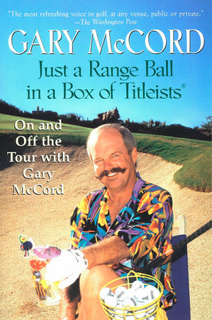 Just a Range Ball in a Box of Titleists