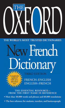 The Oxford New French Dictionary