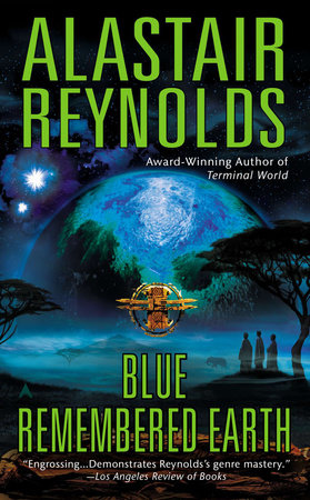 Blue Remembered Earth book cover