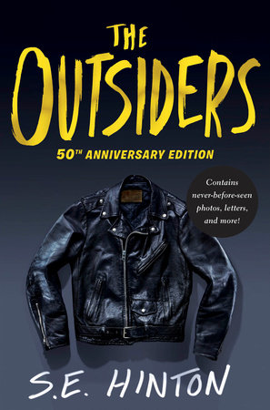 Cover art for The Outsiders 50th Anniversary Edition