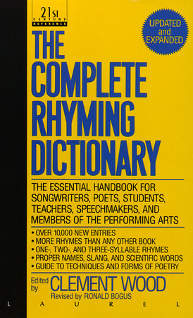 The Complete Rhyming Dictionary by