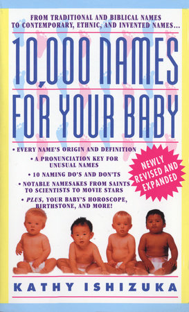 10,000 Names for Your Baby by