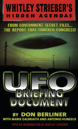 UFO Briefing Document by Don Berliner
