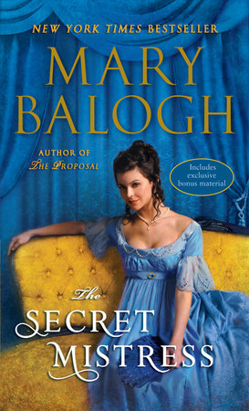 The Secret Mistress (with bonus short story Now a Bride) by Mary Balogh