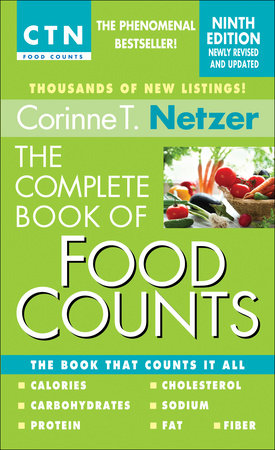 The Complete Book of Food Counts, 9th Edition by