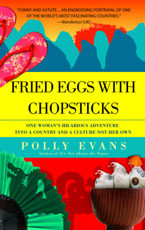 Fried Eggs with Chopsticks by