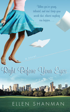 Right Before Your Eyes by Ellen Shanman
