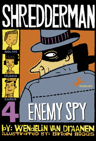 Shredderman: Enemy Spy by