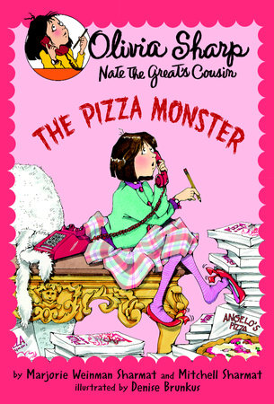The Pizza Monster by Mitchell Sharmat and Marjorie Weinman Sharmat