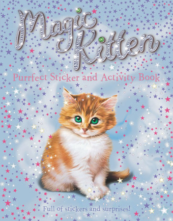 Purrfect Sticker and Activity Book