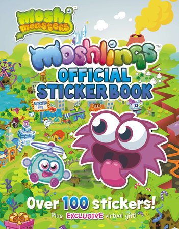 Moshlings Official Sticker Book
