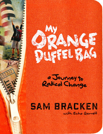 My Orange Duffel Bag by