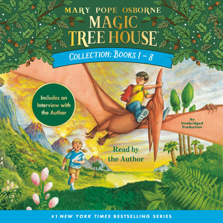 Magic Tree House: Books 1-8 by