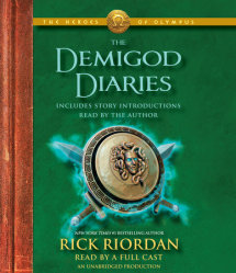 The Heroes of Olympus: The Demigod Diaries Cover