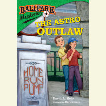 Ballpark Mysteries #4: The Astro Outlaw Cover