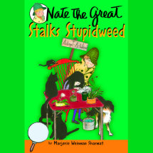 Nate the Great Stalks Stupidweed Cover