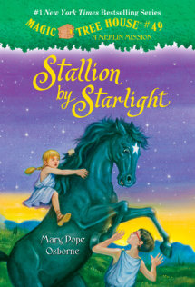 Magic Tree House #49: Stallion by Starlight Cover