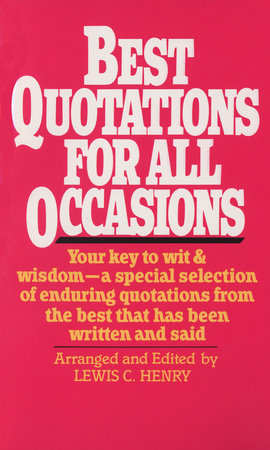 Best Quotations for All Occasions by