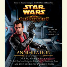 Annihilation: Star Wars (The Old Republic) Cover