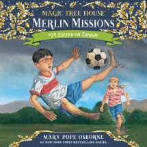 Magic Tree House #52: Soccer on Sunday Cover