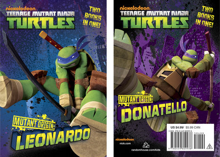 Mutant Origin: Leonardo/Donatello (Teenage Mutant Ninja Turtles) by Michael Teitelbaum