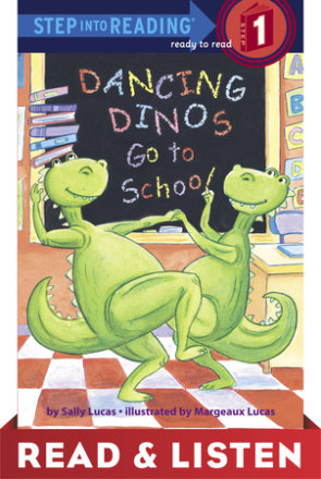 Dancing Dinos Go To School Read & Listen Edition (ebk)
