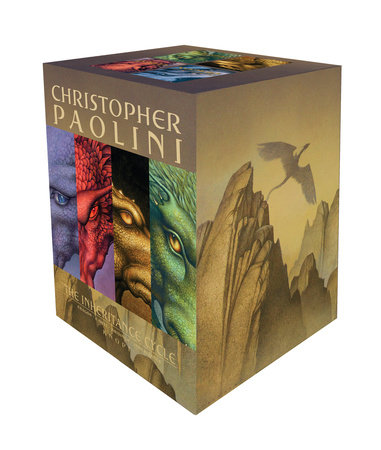 Inheritance Cycle 4-Book Trade Paperback Boxed Set (Eragon, Eldest, Brisingr, Inheritance) by Christopher Paolini