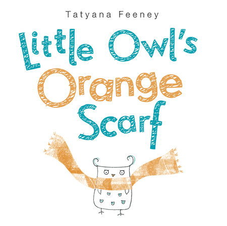 Little Owl's Orange Scarf by