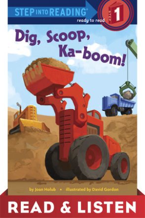 Dig, Scoop, Ka-boom! Read & Listen Edition (ebk)