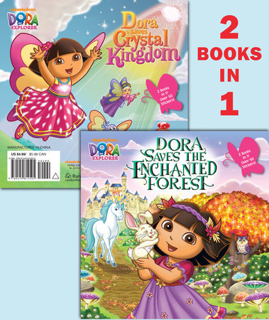 Dora Saves the Enchanted Forest/Dora Saves Crystal Kingdom (Dora the Explorer) by