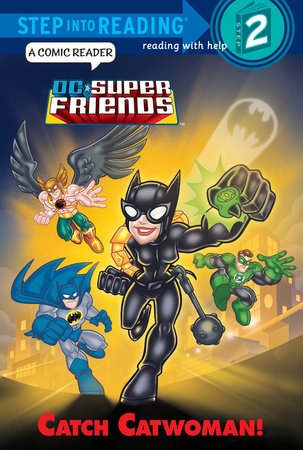 Catch Catwoman! (DC Super Friends) by Billy Wrecks