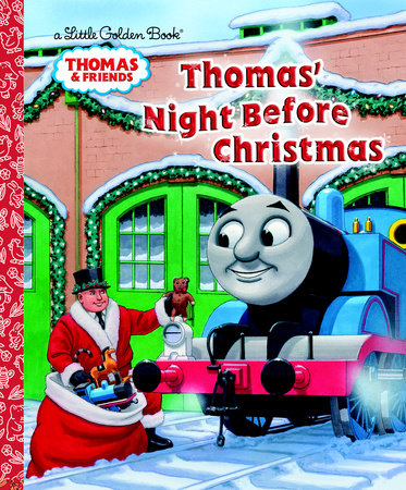 Thomas' Night Before Christmas (Thomas & Freinds) by