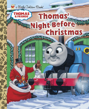 Thomas' Night Before Christmas (Thomas & Friends) by R. Schuyler Hooke