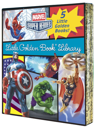 Marvel Little Golden Book Library (Marvel Super Heroes)