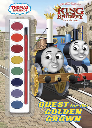 Quest for the Golden Crown (Thomas & Friends) by
