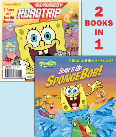 Surf's Up, SpongeBob!/Runaway Roadtrip (SpongeBob SquarePants) by Random House