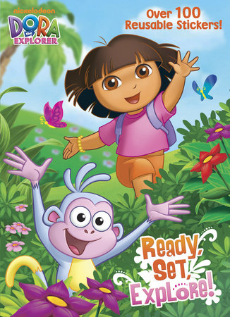 Ready, Set, Explore! (Dora the Explorer) by Golden Books