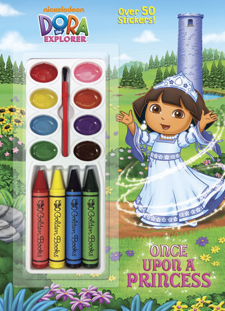 Once Upon a Princess (Dora the Explorer) by Golden Books