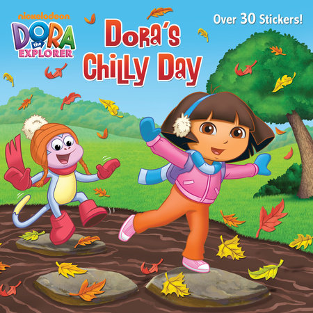 Dora's Chilly Day (Dora the Explorer) by Ellen Rosebrough