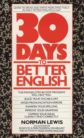 Thirty Days to Better English
