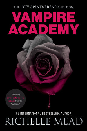 Vampire Academy 10th Anniversary Edition book cover