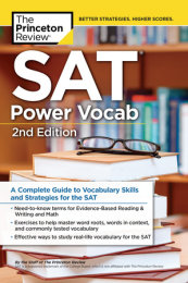 SAT Power Vocab, 2nd Edition