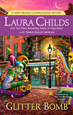 Glitter Bomb by Laura Childs with Terrie Farley Moran