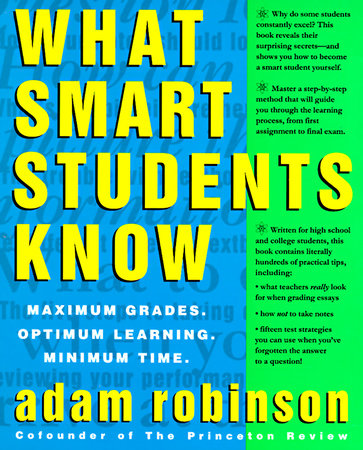 What Smart Students Know by