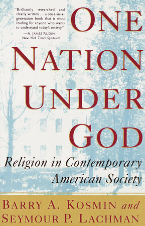 One Nation Under God by Barry Kosmin