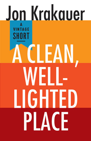A Clean, Well-Lighted Place book cover