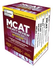 The Princeton Review MCAT Subject Review Complete Box Set, 3rd Edition