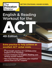 English and Reading Workout for the ACT, 4th Edition